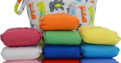 panales reutilizables para bebés de tela
