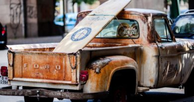 truck rust car ford surfboard 147242.jpgd